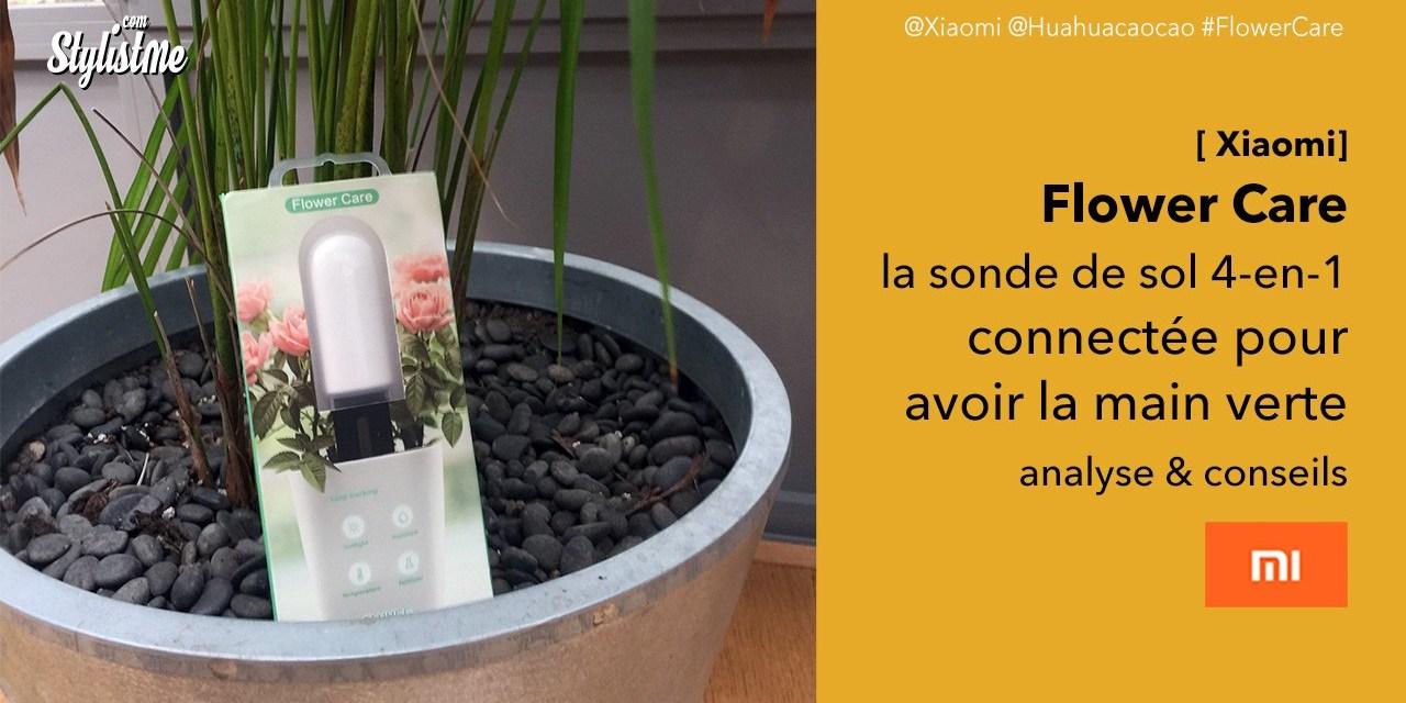 Flower Care test sonde de sol connectée pour vos plantes