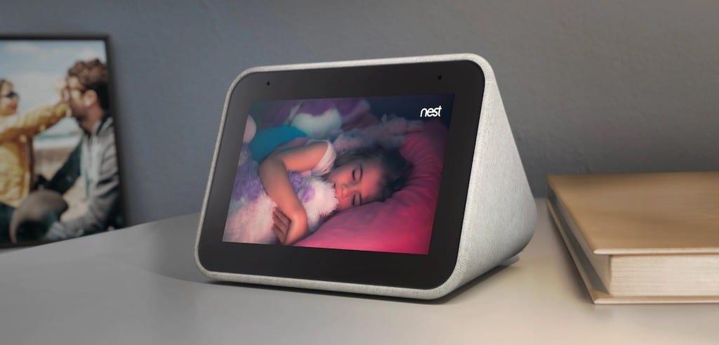 Lenovo smart clock vidéo caméra