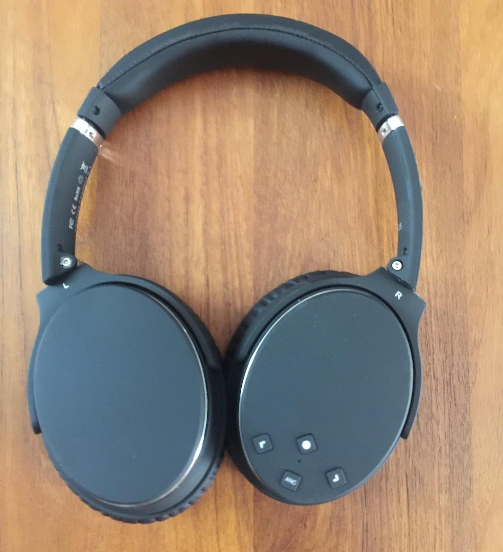 NC25 casque bluetooth réduction bruit active commandes