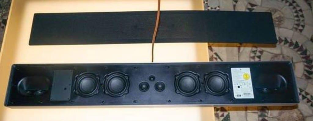 BeoSound Stage test son barre de son connectée