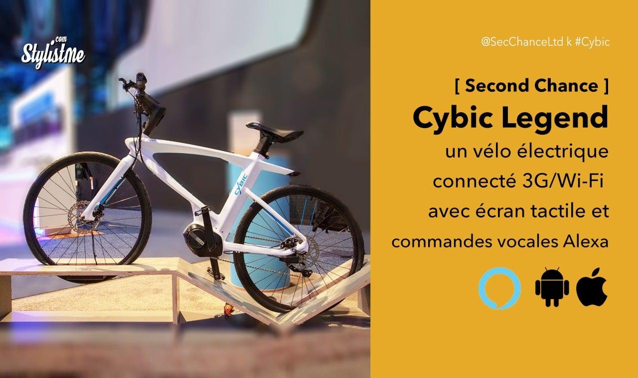 Cybic Legend vélo électrique connecté avec Alexa