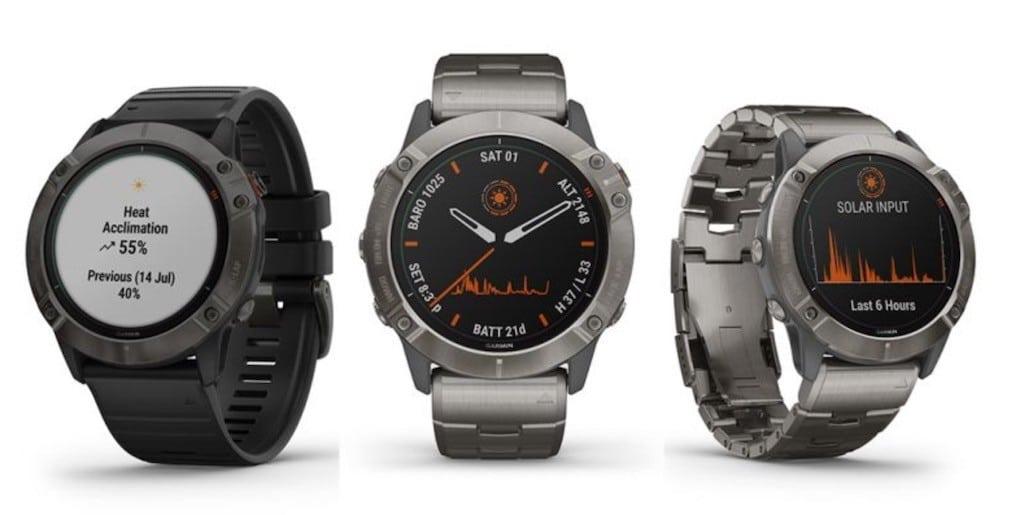 Fenix 6 Garmin meilleure montre course à pied