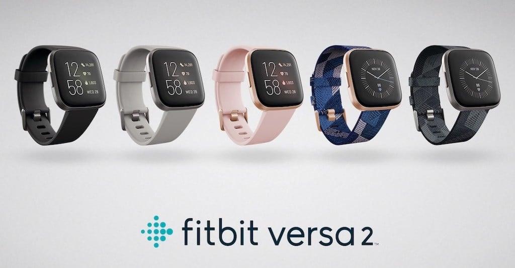 Fitbit versa 2 couleurs