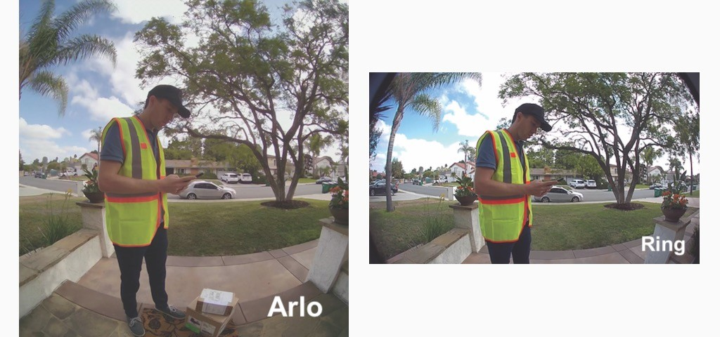 Arlo essential video doorbell caméra sonnette connectée