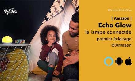 Echo Glow avis prix test de la boule lumineuse connectée d'Amazon