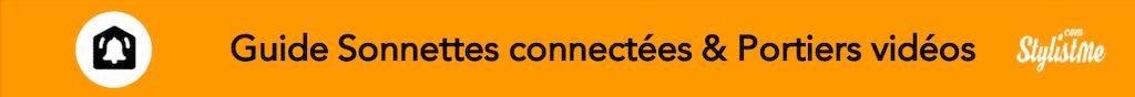 Meilleure sonnette vidéo connectée comparatif