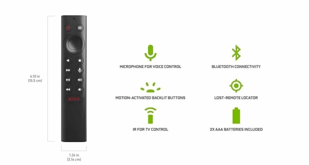 télécommande Nvidia Shield Tv 2019