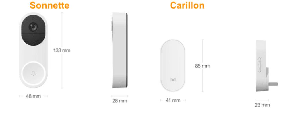 Xiaomi sonnette carillon sans fil connecté