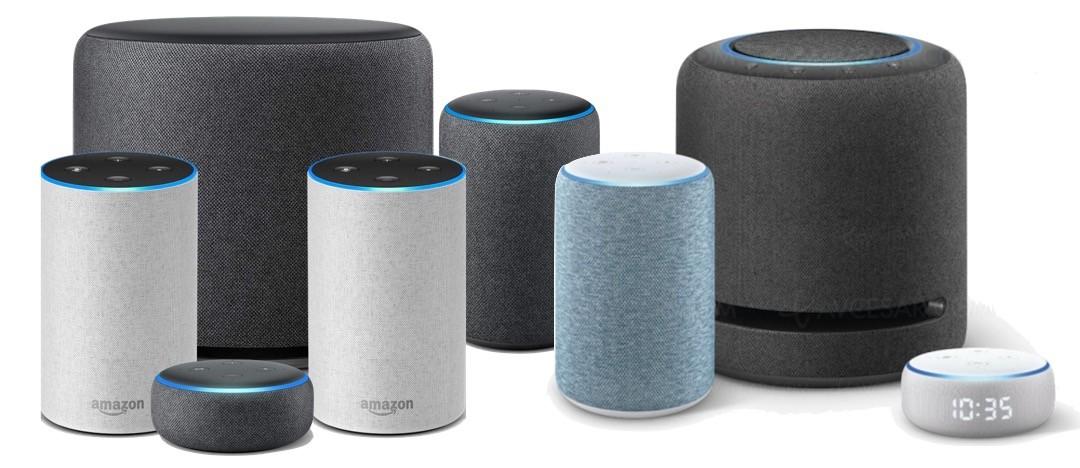enceintes Amazon Echo compatible stéréo
