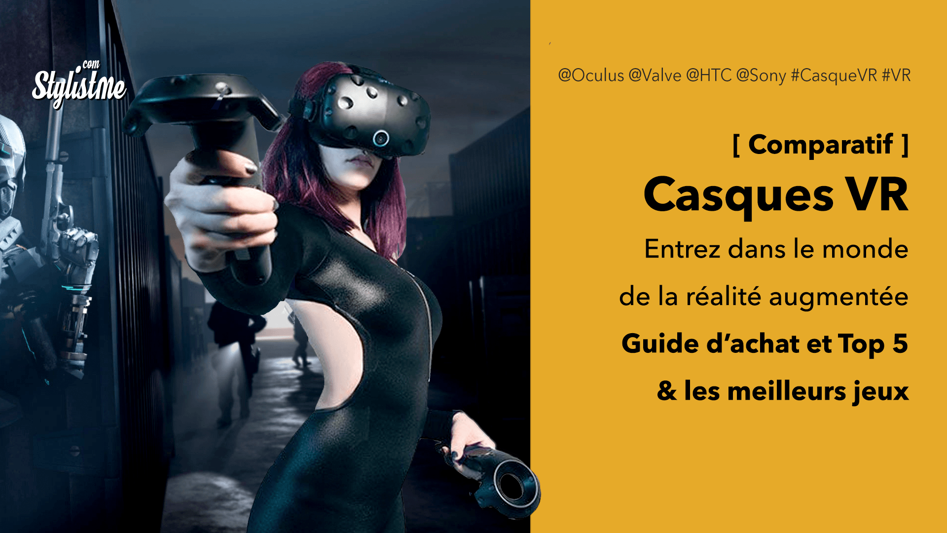 meilleur casque VR comparatif réalité virtuelle