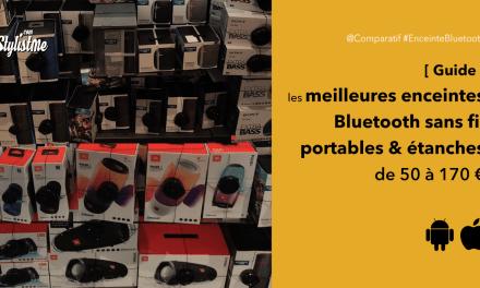Meilleure enceinte Bluetooth sans fil étanche portable à moins de 170 €