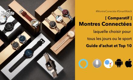 Meilleure montre connectée : comparatif 2020 et guide d'achat