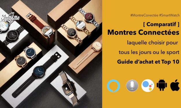 Meilleure montre connectée : comparatif 2019 et guide d'achat