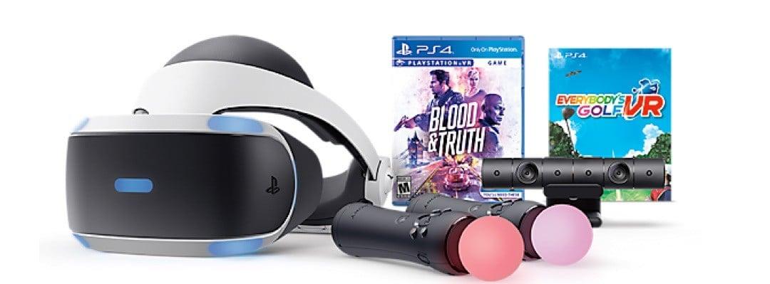 Sony PlayStation VR comparatif casque VR