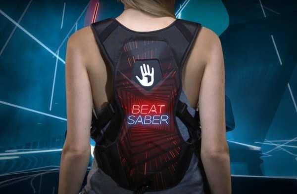 Subpac M2X S2 Oculus quest beat Saber
