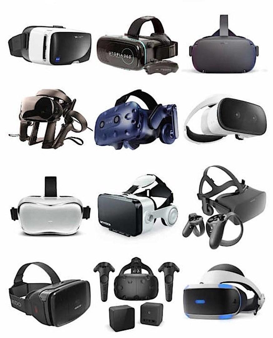 tous les casques VR