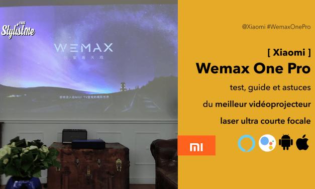 Wemax One Pro test avis meilleur vidéoprojecteur laser ultra courte focale