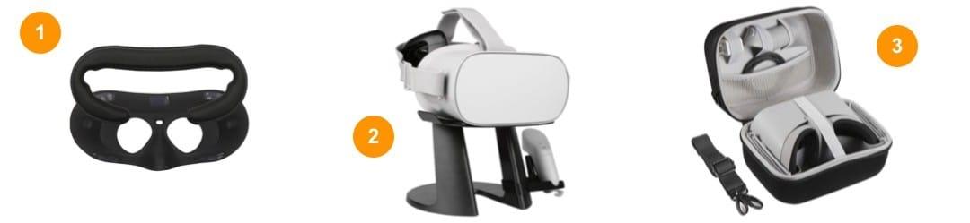 meilleurs accessoires Oculus Go