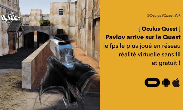 Pavlov Shack sur Oculus Quest le jeu de combat le plus joué en VR