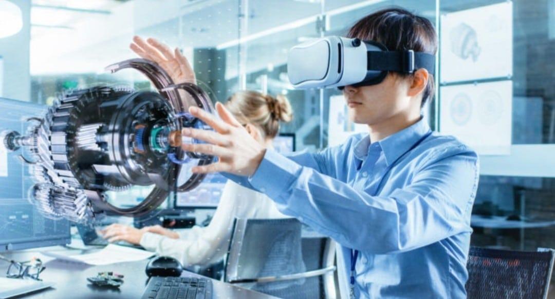 réalité virtuelle industrie recherche