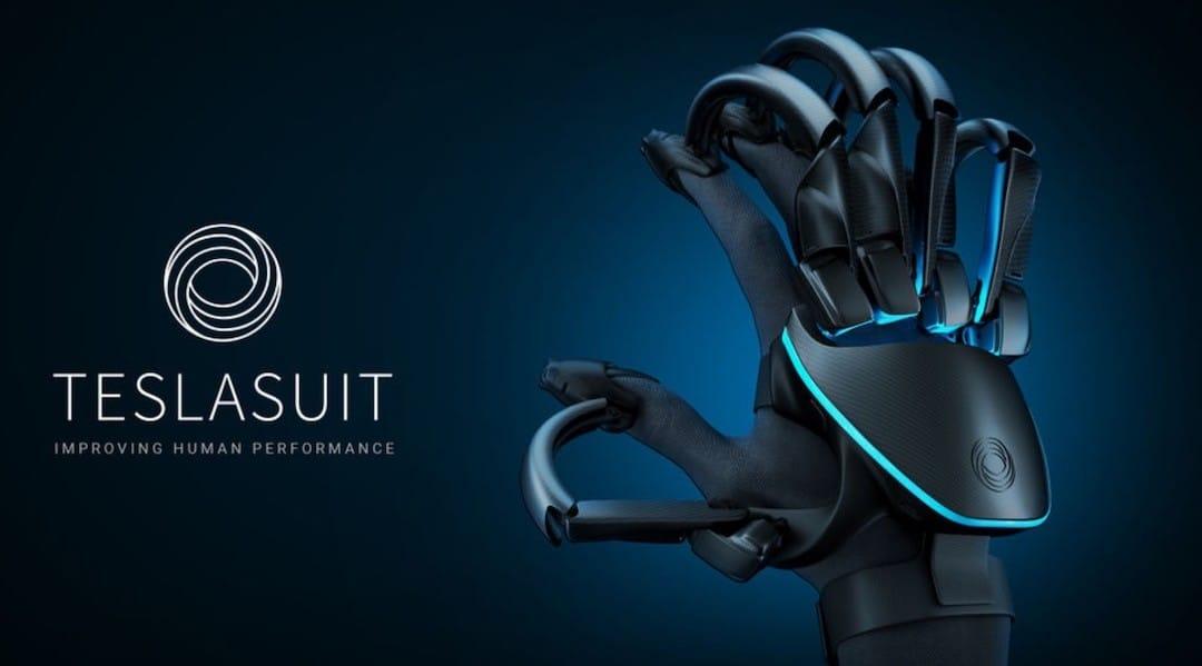 Teslasuit gants et combinaison à retour haptique pour VR
