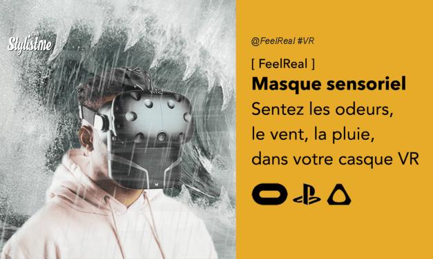 FeelReal ajoutez à votre casque VR des odeurs, la chaleur, le vent, la pluie