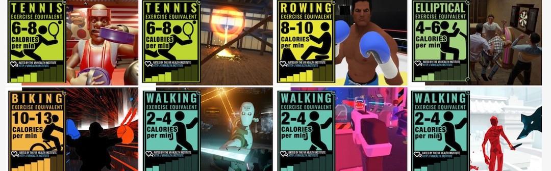 jeux sports casque réalité virtuelle dépense calories