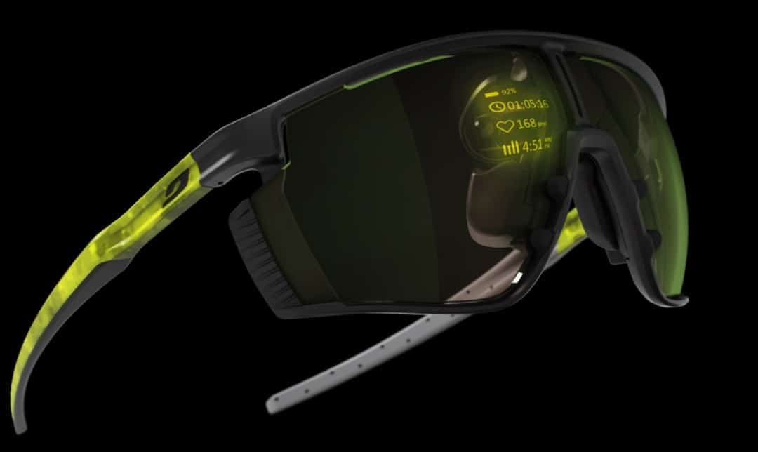 MicroOled Julbo lunettes affichages performances sportives