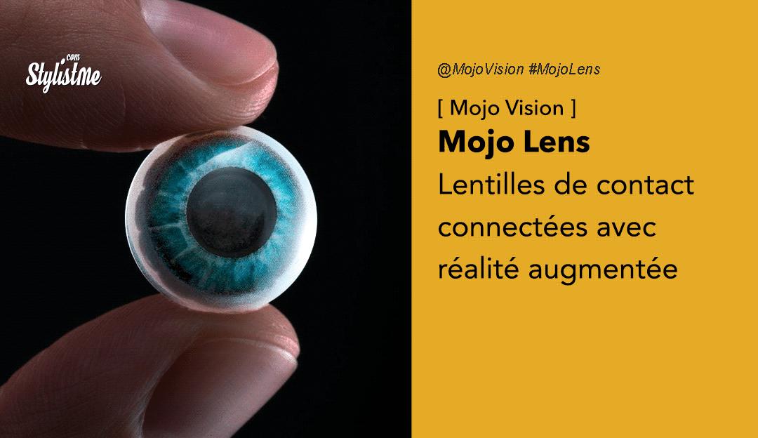 Mojo Lens lentilles de contact connectées Mojo Vision