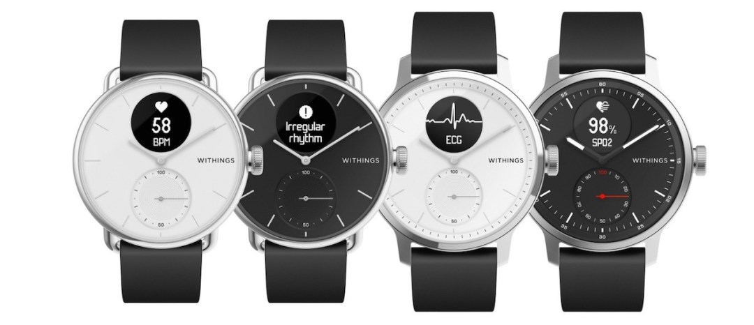 Scanwatcj Withings montre connectée prix