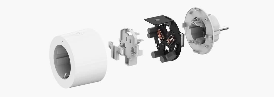 Aqara smart plug prise connectée Homekit Siri
