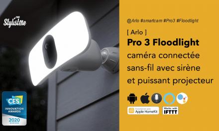 Arlo Pro 3 Floodlight avis prix caméra connectée avec projecteur