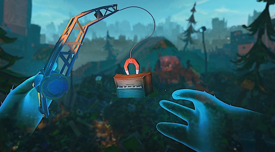 Ghost Giant Oculus Quest graphisme