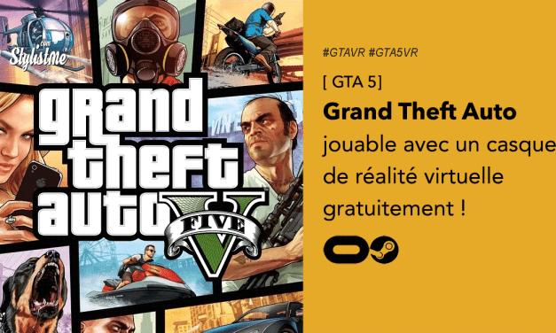 GTA 5 VR : Grand Theft Auto en réalité virtuelle possible avec l'Oculus