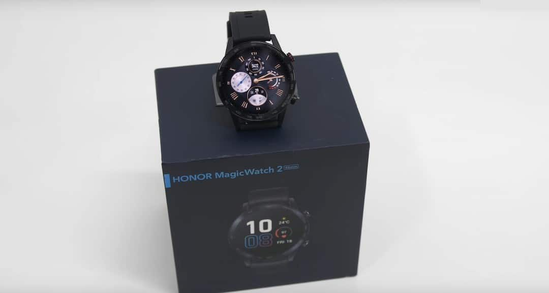 Honor MagicWatch 2 unboxing