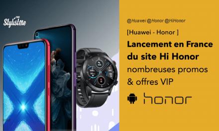 Honor promotions pour le lancement de son site français HiHonor
