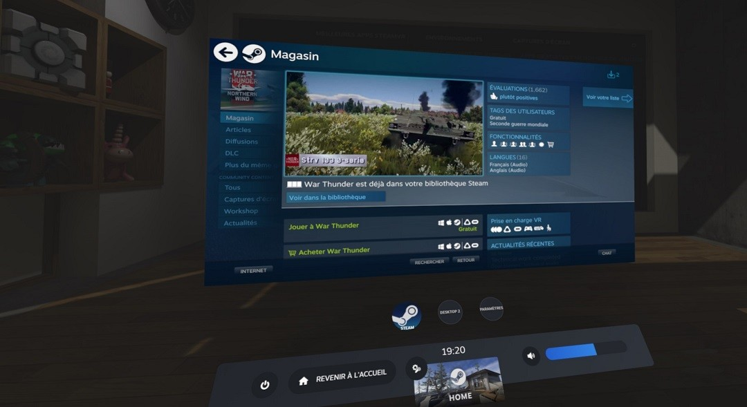 jeu gratuit oculus