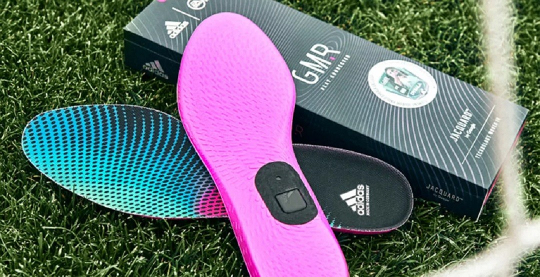 Adidas GMR semelles et Jacquard Tag vos chaussures de foot