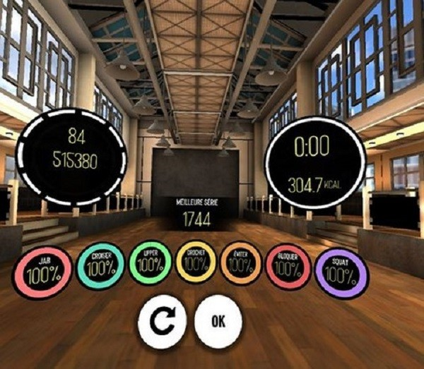 BoxVR motivation sport réalité virtuelle