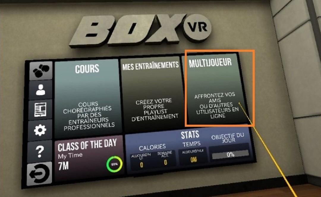 BoxVR partie multijoueur