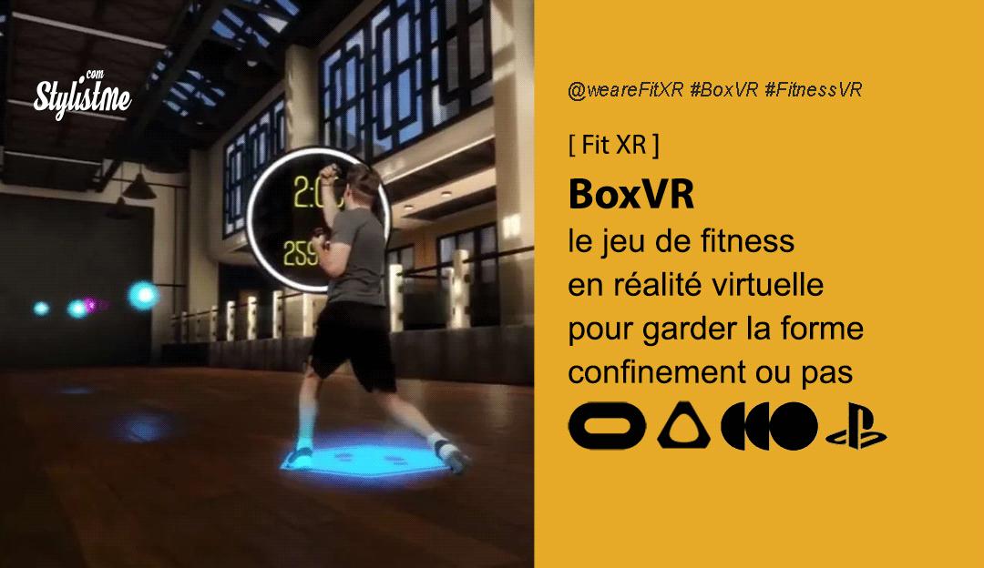 BoxVR test avis prix date : faites du sport en réalité virtuelle