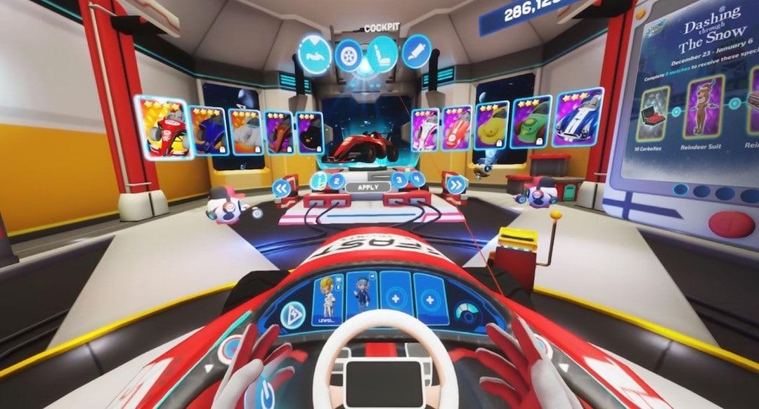Dash Dash World course karting VR