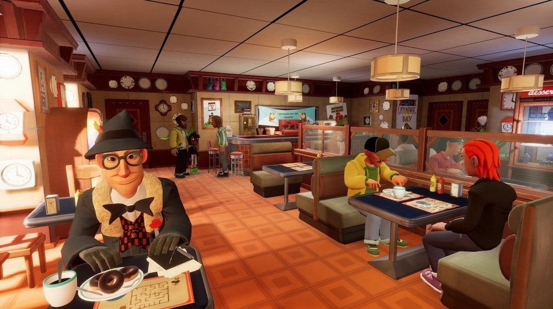 Groundhog Day VR jeu aventure énigmes puzzle mini jeux