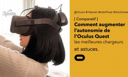 Meilleurs chargeurs Oculus Quest : plus d'autonomie et de confort