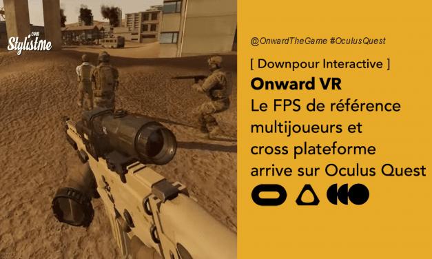Onward test avis prix date jeu de tir de référence arrive sur Oculus Quest