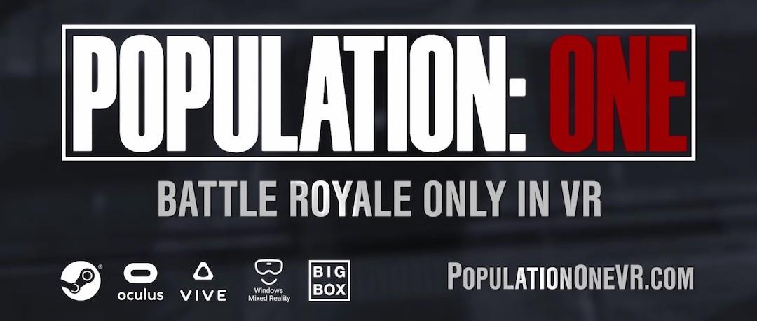 Population one date sortie VRPopulation one date sortie VR