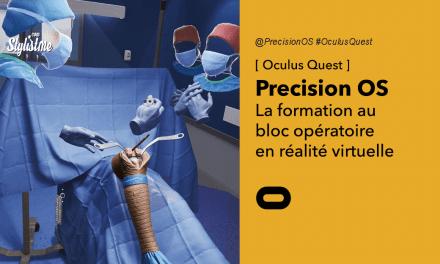 Precision OS le bloc chirurgical en réalité virtuelle sur Oculus Quest