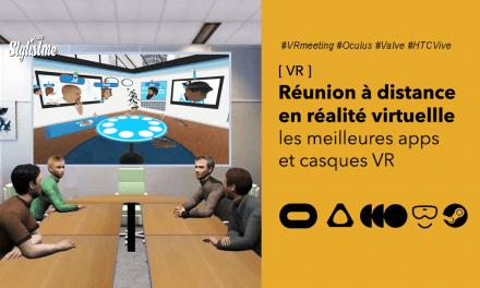 Réunion à distance en réalité virtuelle les applications et casques VR