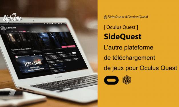 Tuto SideQuest comment ajouter des jeux non officiels à l'Oculus Quest