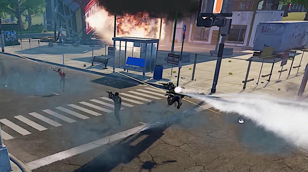 Voler dans Population One VR Battle Royale
